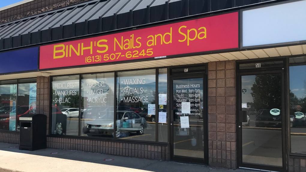 Kingston Nail Salon Covid 19