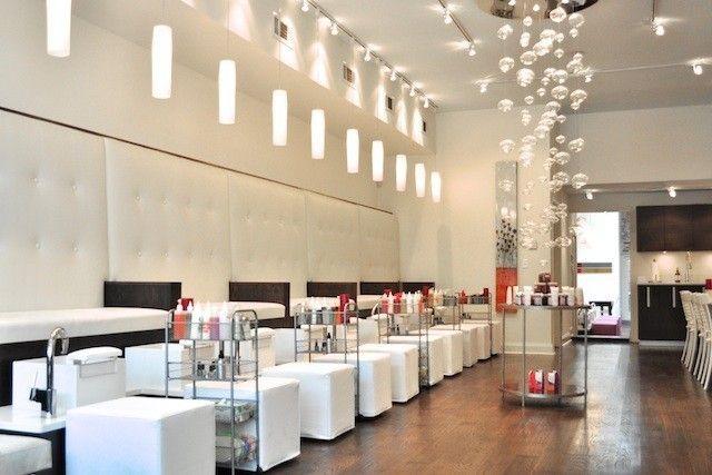 Luxurious Modern Nail Salon Interior Design