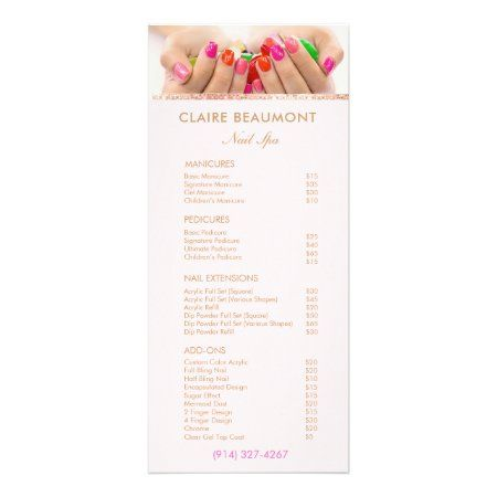 nail salon add on services