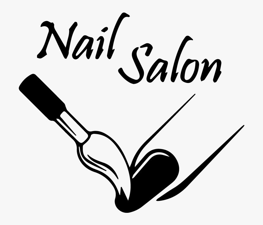Transparent Nail Salon Clipart